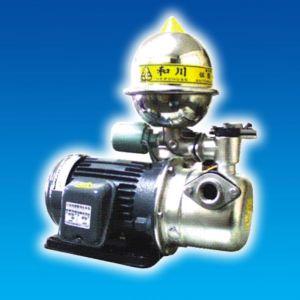 Máy bơm phun tăng áp vỏ gang đầu Inox HJA225-1.75 26T 1HP Rờ le nhiệt