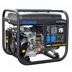 Máy phát điện chạy xăng Hyundai  HY7000LE - 5.0Kw