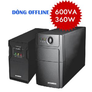 BỘ LƯU ĐIỆN UPS - DÒNG OFFLINE HD-600VA