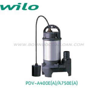 Bơm chìm nước thải Wilo PDV-A750E