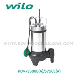 Bơm chìm nước thải Wilo PDV-S600E