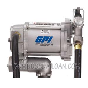 Bơm dầu GPI M-3220-ML-có đồng hồ
