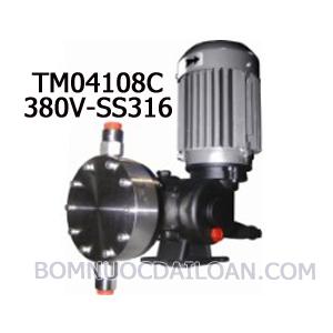 Bơm định lượng Injecta TM04108C-SS316-380V