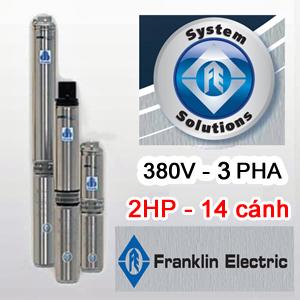 Bơm hỏa tiễn Franklin 4inch 100FA2S4-PEXB - 380V
