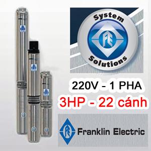Bơm hỏa tiễn Franklin 4inch 100FA3S4-PEXB