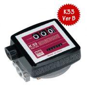 Đồng hồ đo dầu Piusi Meter K33 Ver B
