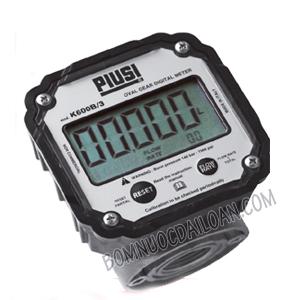 Đồng hồ đo dầu Piusi Meter K600/3