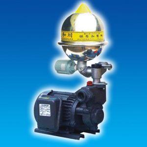 Máy bơm bánh răng tăng áp đầu gang bầu Inox  HCB225-1.75 26T 1HP Rờ le nhiệt
