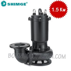 Máy bơm chìm nước thải Shimge WQK15-12-1.5