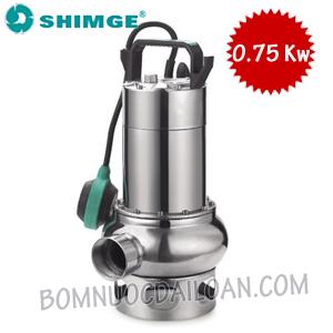 Máy bơm chìm nước thải Shimge WSD75/35