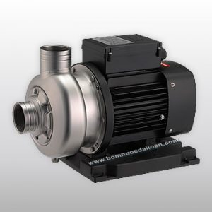 Máy bơm nước thải trục ngang đầu Inox SWO-220 2HP