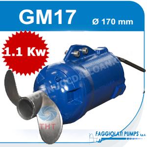 Máy khuấy chìm FAGGIOLATI GM17A1T