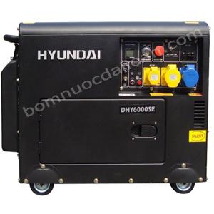 Máy phát điện chạy dầu Hyndai  DHY6000SE - 5.0Kw