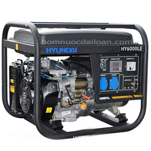 Máy phát điện chạy xăng Hyundai  HY6000LE - 4.0Kw