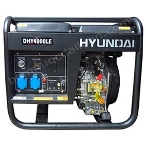 Máy phát điện chạy dầu Hyndai  DHY4000LE - 3.0Kw