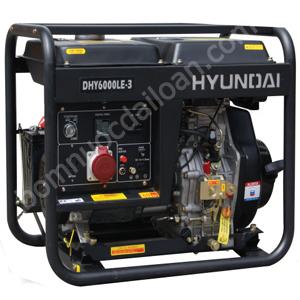 Máy phát điện chạy dầu Hyndai  DHY6000LE-3 - 5.0Kw