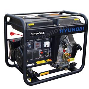 Máy phát điện chạy dầu Hyndai  DHY6000LE - 5.0Kw