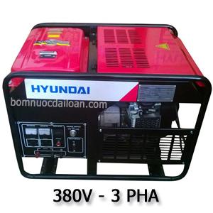 Máy phát điện chạy xăng Hyundai HY14000LE-3